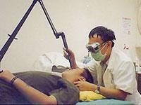 鐳射除斑治療照片