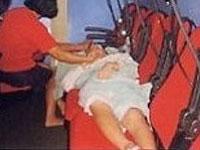 高壓氧病患治療實況之一